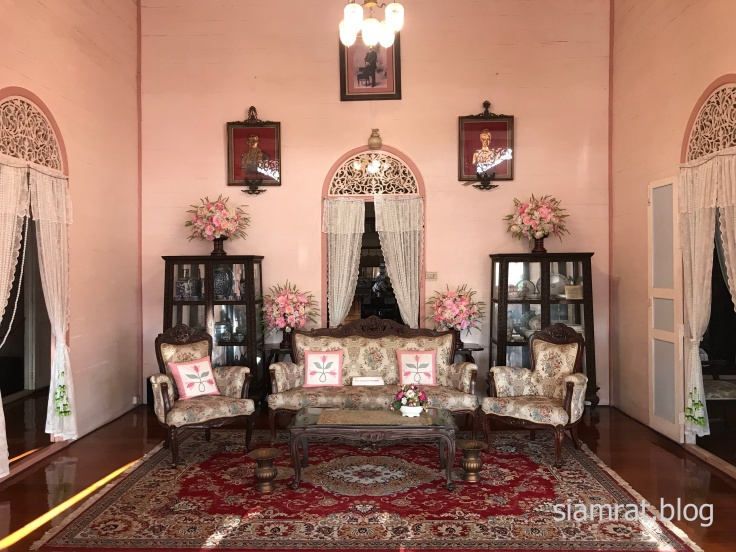 interior view of Wong Buri house