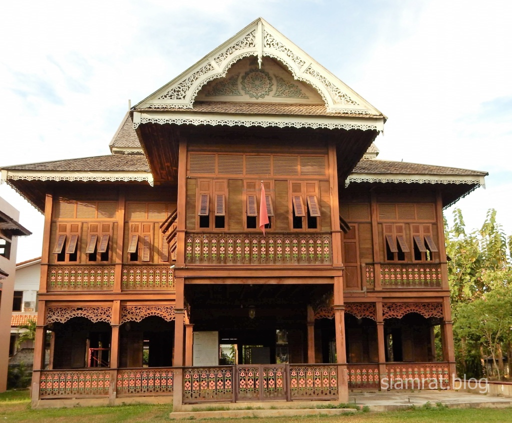 Wichai Racha teak gingerbread house