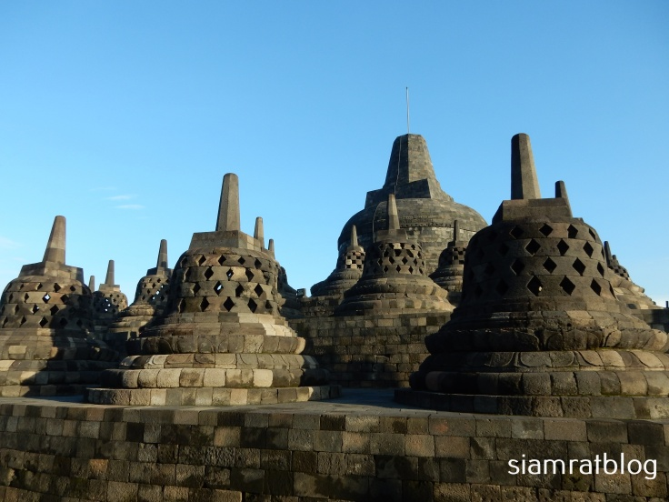 top level of borobudur
