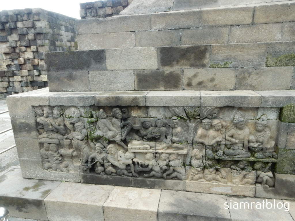 stone carvings of hidden foot