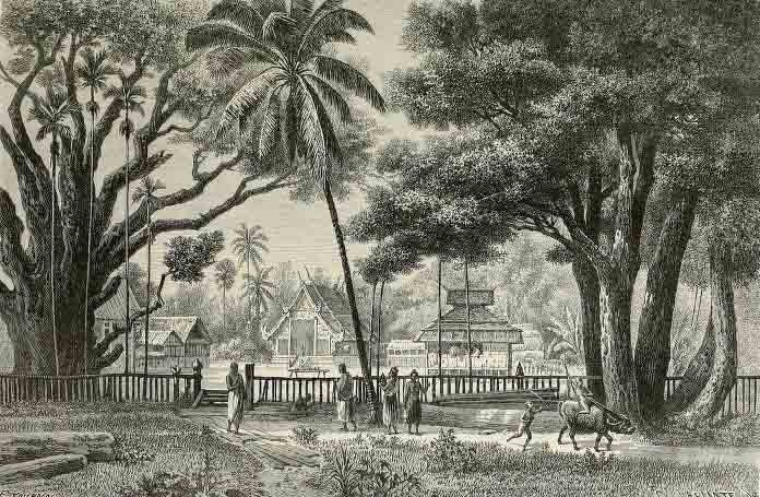 drawing of bassac