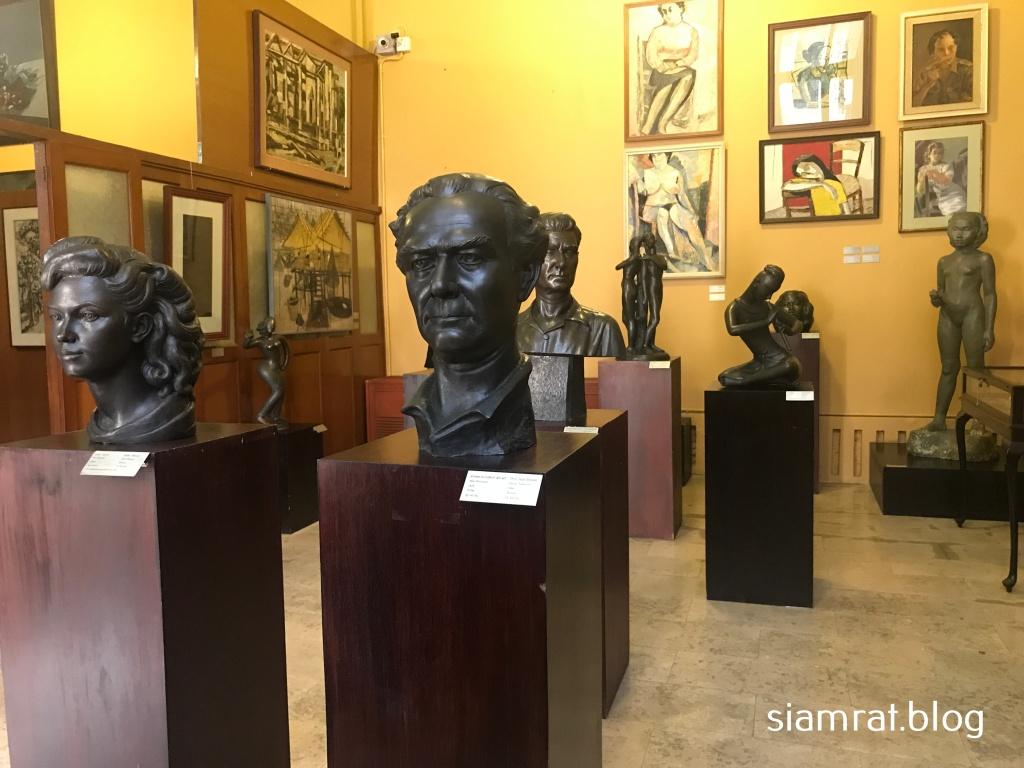 sculptured busts