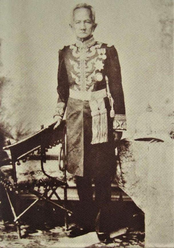 uniformed man